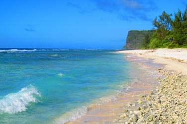 Les plages sont sauvages et authentiques...