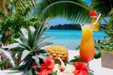 Un cocktail à la main, admirez le panorama