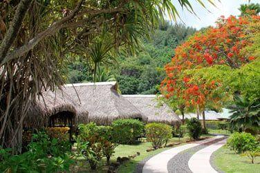 Une architecture polynésienne typique
