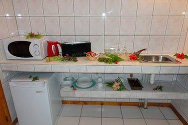 Votre kitchenette pour un séjour en totale liberté