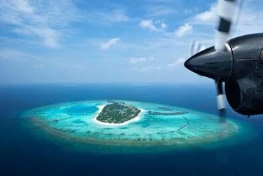 Situé aux Maldives, au coeur de l'atoll préservé de Noonu...