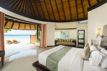La chambre d'une Beach Villa