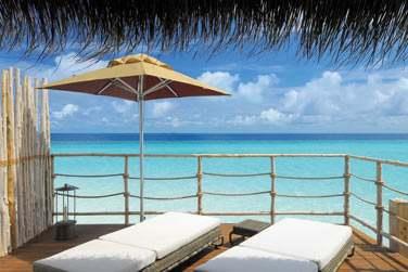 La Senior Water Villa, la meilleure catégorie de l'hôtel ! Une pure merveille...