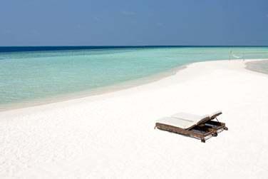 Etendues de bancs de sable, ici, vous vous sentirez seul au monde !