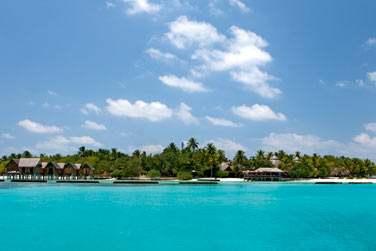 ... Dans cet hôtel aux très belles villas en parfaite harmonie avec la nature tropicale de l'île