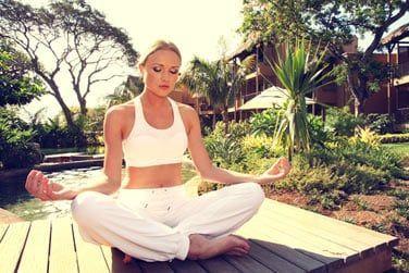 Vous pourrez aussi y suivre des cours de yoga