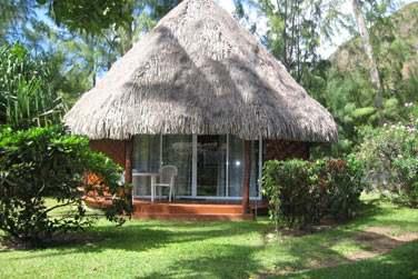 vous découvrirez votre hébergement typiquement Polynésien