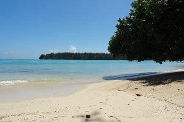 Sur les bords de cette superbe plage...