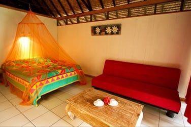 Les bungalows confortables à la déco très colorée