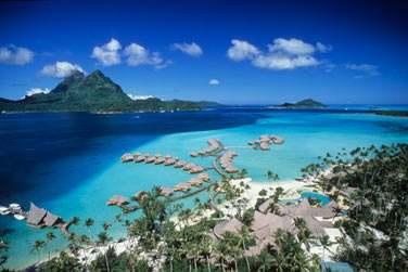 Bienvenue à Bora Bora ...