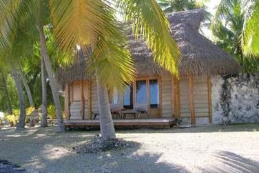Votre hébergement se fera en petit bungalow ...