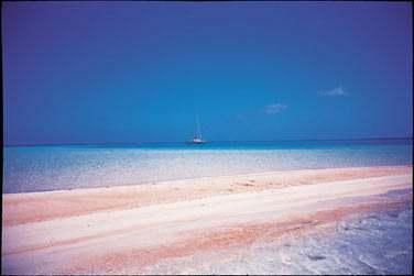 Avec l'ile aux sables roses ...