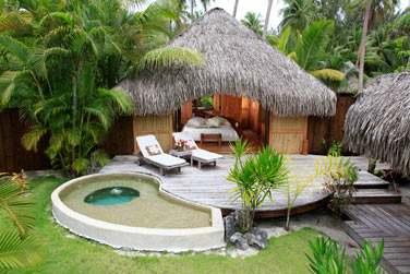 au sein de l'hôtel Bora Bora Pearl Beach ...