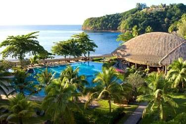 et rendez vous à l'hôtel Radisson Plaza Resort à Tahiti