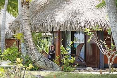Vous apprécierez le confort des bungalows de style polynésiens