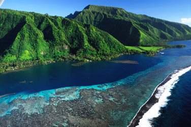 Bienvenue sur l'ile de Tahiti ..