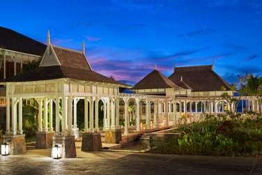 Le pavillon d'accueil pour de majestueuses arrivées à l'hôtel