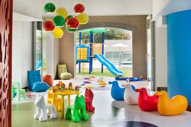 La salle de jeux du mini-club qui ravira vos enfants !