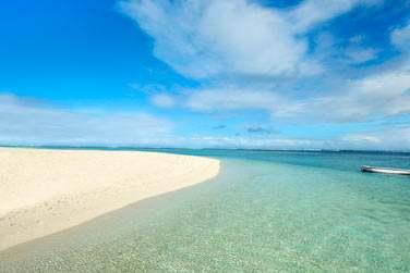L'hôtel est bordé par la plage du Morne et son lagon aux eaux cristallines