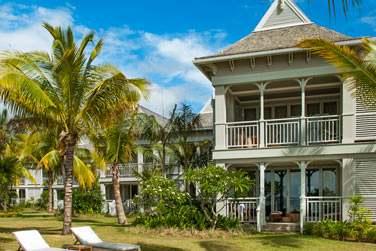 L'architecture de l'hôtel aux influences de l'époque coloniale