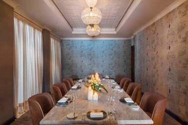 Le restaurant gastronomique 'Inspiration' est probablement le plus petit et le plus exclusif des restaurants de l'île Maurice.
