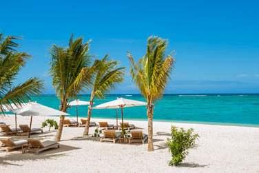 La plage du Morne, au sud-ouest de l'île Maurice, est sans aucun doute, l'une des plus belles de l'île
