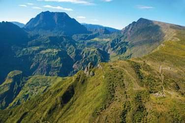 Sommet du piton Maïdo à la Réunion