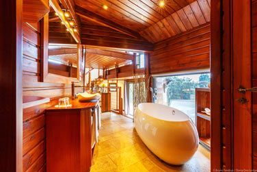 Salle de bain de la suite Honeymoon