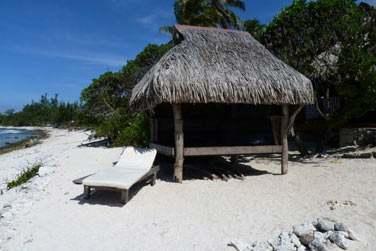 Sa petite plage