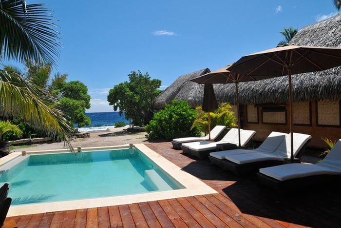 photo pension green lodge - moorea