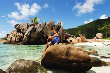 Avec sa superbe plage de Anse Source d'Argent