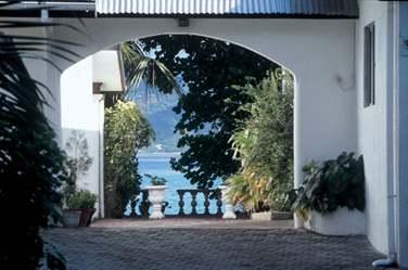 Une adresse seychelloise typique
