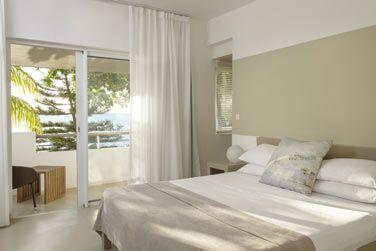 La chambre deluxe front de mer offrent un confort optimal