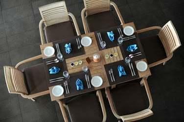 Rendez-vous au restaurant 'La Pointe aux Piments' pour vos déjeuners ou dîners (restaurant principal)