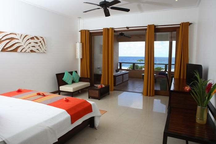 chambre king deluxe vue océan