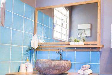 La salle de bain de la chambre Océane