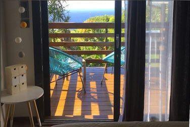 Terrasse de la chambre Vacoa