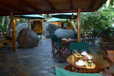 Le retaurant le Jardin des Orchidées où vous pourrez prendre votre petit déjeuner