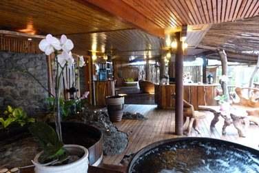 C'est dans ce havre de paix et de relaxation que le Lodge a construit un immense Spa...