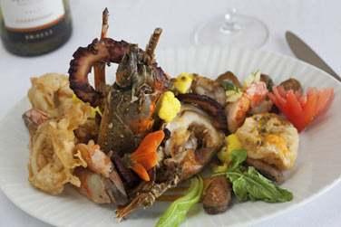 Vous aurez l'occasion de déguster un menu créole une fois par semaine