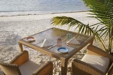 Rien de tel qu'un petit déjeuner sur la plage pour bien commencer la journée !