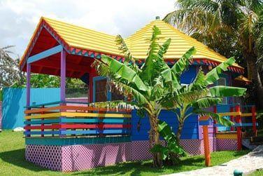 Séjournez dans des studios ou cottages colorés