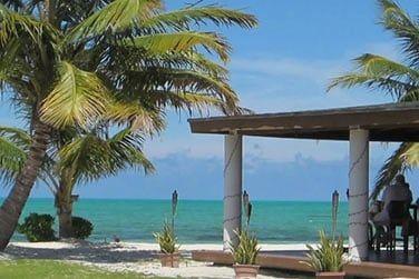 Un cadre idyllique et typiquement bahaméen