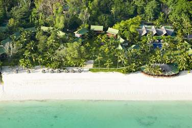 La situation de l'hôtel est d'autant plus remarquable qu'il est situé à l'extrémité de la plage