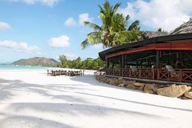 Le restaurant au bord de plage