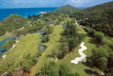 Le parcours de golf 18 trous de renommée internationale