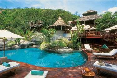 au Constance Lemuria Resort, membre de la collection 'The Leading Hotels of the World'.