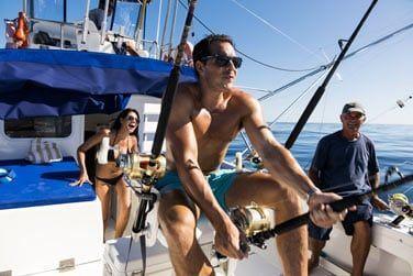 Vous pourrez monter à bord d'un bateau et partir en mer pêcher au gros