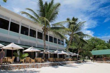 Les restaurants se situent en front de mer pour votre plus grand plaisir !