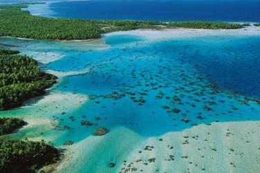Rangiroa !! et son célèbre lagon Bleu...